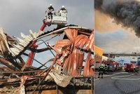 Nowaco těžce zasáhl požár výrobní haly v Kralupech: Většinu produktů vyráběla právě tam
