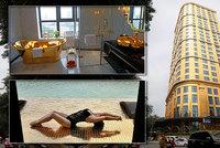 Zlato, kam se podíváš: Luxusní hotel vše pokryl drahým kovem. Od jídla po záchody