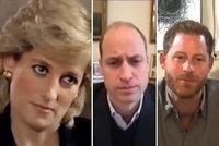 Poslední naděje pro Williama a Harryho? Sblížit by je mohla Diana (†36) ze záhrobí!