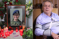 Prezident Zeman vyznamená padlou vojačku Míšu: Nevyloučil, že za její smrt mohou teroristé
