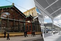 Park na střeše Masarykova nádraží? Za dva roky začne složitá rekonstrukce