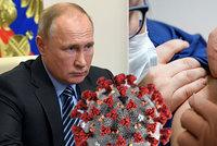 Putin chválí ruskou vakcínu, sám se ale očkovat nenechal. A co jeho dcera?