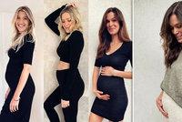 Tři v tom? Krásná modelka oznámila těhotenství! Stejně jako kámošky Nováčková a Hejdová