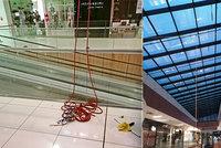 Lukášovi při pádu v obchodním centru amputovalo zábradlí nohu: Věšel zrovna vánoční výzdobu