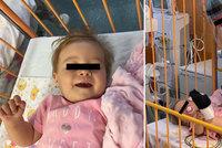 První holčička dostala v Česku nejdražší lék na světě! Plakala jsem, řekla maminka Lucinky (13 měs.)
