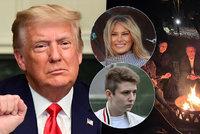 Poslední prezidentská dovolená: Trump jen s dospělými dětmi. Kam zmizela Melania s Barronem?
