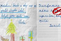 Zoufalé děti píší přání Ježíškovi: Aby mě strejda neosahával a máma nepálila cigaretou