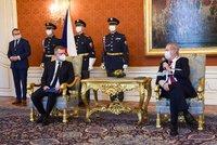 Zeman jmenoval Mlsnu šéfem antimonopolního úřadu. Přidal slova o pravdě a narušení soutěže
