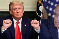 """Trump prý chystá """"dáreček"""" pro svého právníka. Udělí Giulianimu preventivní milost?"""
