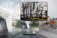 Lampy jako květiny? Dvorecký most si vzal do parády umělec Kryštof Kintera. Plánuje světově unikátní výzdobu