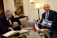 Zemanův oblíbenec nestihl sestavit vládu. Netanjahu může v Izraeli po 12 letech skončit v opozici