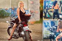 Sexy české motorkářky osedlaly stroje! Chtějí pomoci Michalce (5)