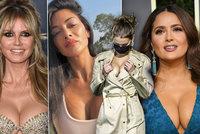 Nejhlubší výstřihy 2020: Nadupaná Salma Hayeková, plastická Alvesová či vyprsená Bella Hadidová!