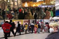 České rozvolnění: Přeplněný Staromák, útok na hospody, kadeřnice na roztrhání. A haldy rezervací