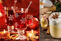 Ty pravé vánoční drinky! Recept na výborný punč i lahodný vaječný koňak