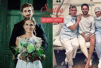 Ženich René ze Svatby v nemocnici! Operace a nečekaná slova nespokojené ženy Petry