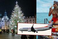 Češi chtějí slavit svátky v exotice, hodně je lákají Emiráty. Zájezdy jsou téměř plné