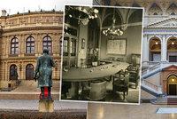 Sídlo parlamentu i tělocvična taneční konzervatoře. Rudolfinum má pestrou historii