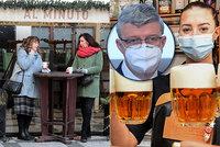 """Hospodám zakázali i prodej piva v PET lahvi. Havlíček hájí zavření po 20:00: """"Situace se zhoršuje"""""""