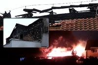 Pětičlenná rodina před Vánoci přišla o střechu nad hlavu: Po požáru jim pomáhají dobrodinci