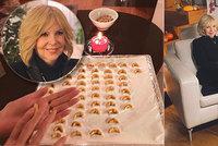 Chcete péct vanilkové rohlíčky jako Hana Zagorová? Blesk vám prozradí její rodinný recept!