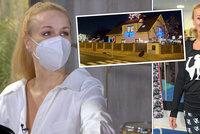Koučka Tváře Linda Finková vánočně vyzdobila dům a ozářila půlku ulice!