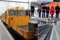 Po 114 letech vznikla v Praze nová železniční trať. Vede přes Eden, fungovat začne o víkendu