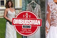 Patricie (49) chtěla luxusní šaty na svatbu, takhle to dopadlo! Co na spor říká odborník?