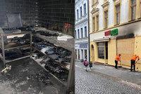 Odporný konkurenční boj? Majitelé vyhořelé pizzerie z Příbrami slibují odměnu za dopadení žháře
