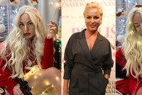 Velké srovnání sexy vánočních fotek Martiny Pártlové: S retuší a bez ní!