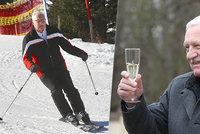 Klaus o pokutě a Vánocích: Na hory pojedu, ale bez skafandru. A zmínil očkování