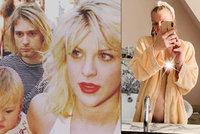 Rebelka Courtney Love (56) šokovala nahotou! Je na intimním snímku těhotná?