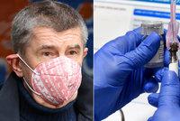 V lednu do Česka dorazí 320 tisíc vakcín. Blatný zmínil navýšení dodávky