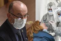 Koronavirus ONLINE: Blatný chce umrtvení ČR od 27. prosince. A odmítá výjimku na Silvestra