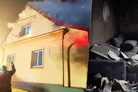 Rodině z Dvorců shořel dům pár dní před Vánocemi: Zvedla se vlna solidarity, pomoct může každý