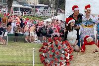 Vánoční party na pláži utnula až policie. Experti se zhrozili, ministr zmínil idioty