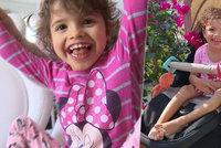 Malou Adrianku (6) po porodu téměř hodinu resuscitovali: Doteď téměř nechodí a nemluví