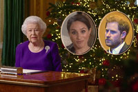 Rázný vánoční projev královny Alžběty: Meghan a Harryho odepsala z rodiny!