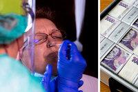 Od nového roku zlevní PCR testy na koronavirus: Pro samoplátce budou za 1309 korun