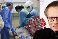 Larry King (87) skončil s covidem v nemocnici. Legendární moderátor loni pohřbil dvě děti