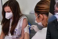 Očkovací kalendář pro Česko: Od 15. ledna se můžou hlásit starci, od února široká veřejnost
