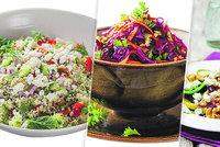 Povánoční detox: Vsaďte na zelí, lehounký kuskus i hruškový salát se sýrem