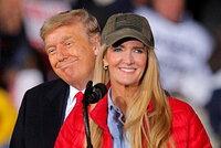 Zpochybňovač Trump řádil v Georgii. Hájil blond kandidátku, doprovodili ho Ivanka i syn