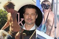 Brad Pitt ukázal ochablé tělo! Kam zmizel Adonis a jeho perfektní svalstvo?