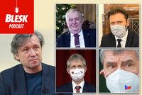 Blesk Podcast: Co nám podle Pečinky přejí politici v roce 2021? Emotivní »tvrďák« Babiš, spojující Vystrčil a Vondráček