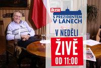 Zeman pro Blesk v neděli od 11:00: Covid, očkování, volby i výhled na rok 2021