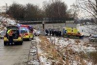 Boj o život u Vltavy! Muž (28) se zřítil z Trojského mostu do řeky, vylovili ho kajakáři