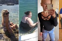Úžasná proměna: Takhle Katka (26) vypadala dříve! Dnes je o 85 kilo lehčí