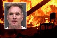 Muž při žhářském útoku omylem podpálil i sám sebe: Vážně popálený skončil v nemocnici