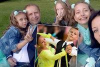 Třem nadaným tanečnicím (14, 12 a 9) nečekaně zemřel tatínek: Maminka Nikol má strach, co bude dál